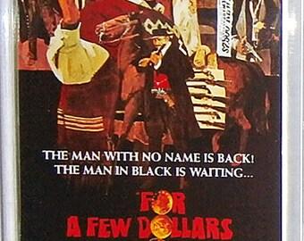 For a Few Dollars More Clint Eastwood Lee Van Cleef Gian Maria Volonté Klaus Kinski movie poster Fridge Magnet & Jumbo Keyring V1 - New