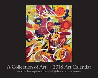 2018 Abstract Art Calendars by Amber Ja'Ski (The Abstract Princess)