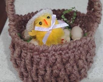 Crochet Basket Easter