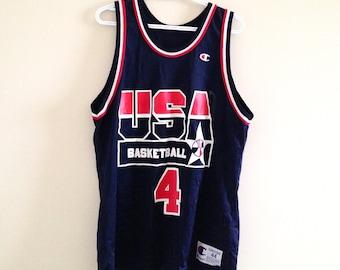 USA Basketball Dream Team 2 Champion Basketball Jersey