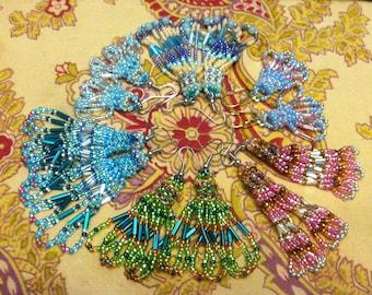 LoveSeedBead Peyote Stitch Earrings