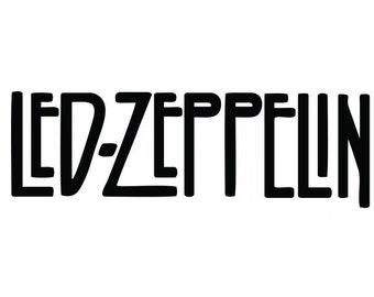 Led Zeppelin Vinyl Cut Sticker Decal