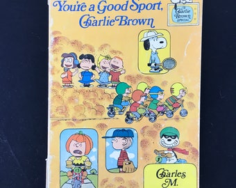 1976 Scholastic Book, You're a Good Sport Charlie Brown