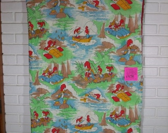 1960's Woody Woodpecker and Friends Sleeping bag