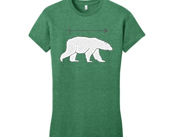 Funny Shirts for Women Polar Bear Tee Science Shirt Funny Science Teacher Gifts for Teachers Graduation Gifts Chemistry Gift Chemistry Shirt
