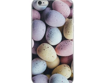 Easter Candy Cadbury Eggs iPhone Case by BREMKIE