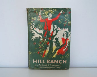 S A L E Vintage children's book - Hill Ranch (1951) - First edition