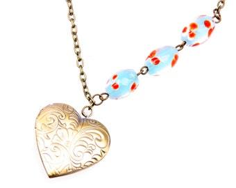 Heart Necklace, Heart locket