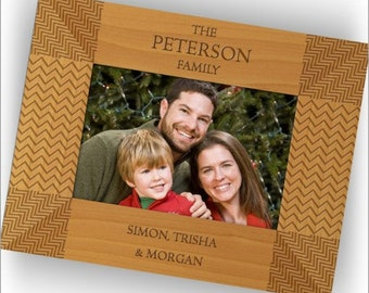LOW SALES DEACT Personalized Natural Wood Frames - 2813_5