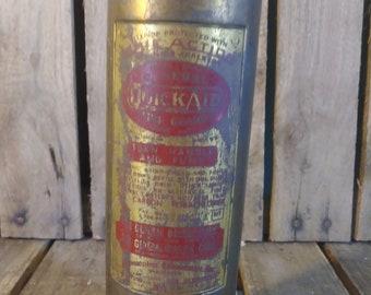 Brass Fire Extinguisher, Quickaid Fire Guard Model 85 HD