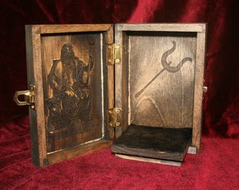 Hades & Cerberus Portable Travel Altar Box