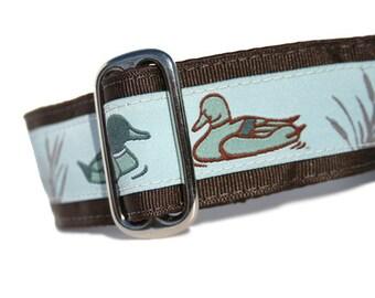 "1.5"" Dog Collar Ducks - Choose Your Collar Style!"