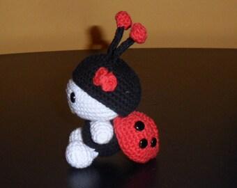 Ladybug Crochet, Ladybug Amirigumi, handmade