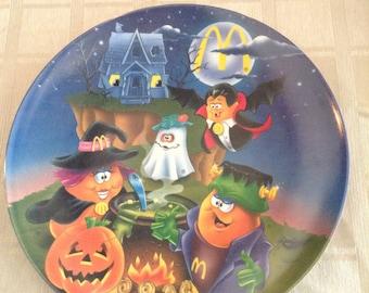 McDonalds Halloween plate