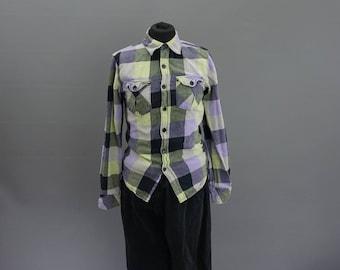 vintage check shirt