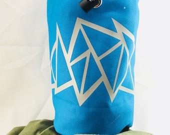 Geometric Chalk Bag