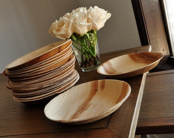 Round Eco Friendly Plates 7\ . Ready in 2-5 Business Days. Disposable & Appetizer   Etsy