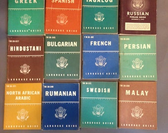 Language Guide Book Set from 1943-1944