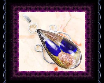 Dichoric Glass Pendant