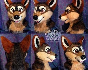 Artist-Designed Fursuit Head - Made to Order