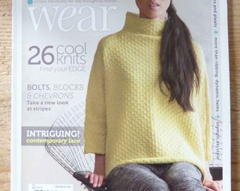 Knit.wear magazine spring summer 2014 new woman knit diy