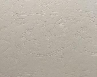 A4 hardback binding effect grain leather ivory