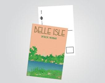 Belle Isle Postcard