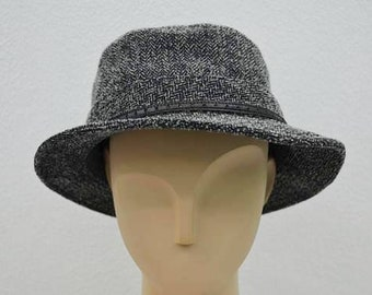Borsalino Hat Borsalino Bucket Hat Borsalino Fedora Made in Japan 59.5cm Size LL