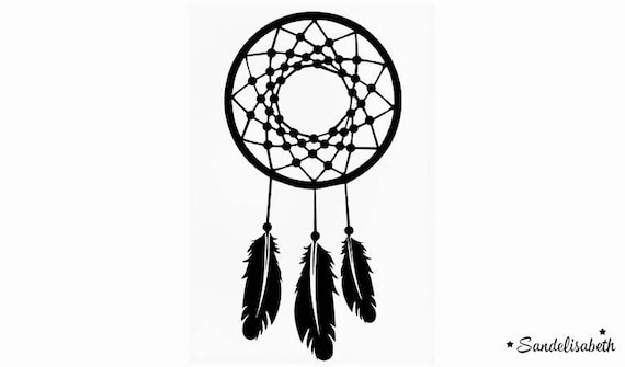 motif dreamcatcher attrape reve indien thermocollant flex. Black Bedroom Furniture Sets. Home Design Ideas