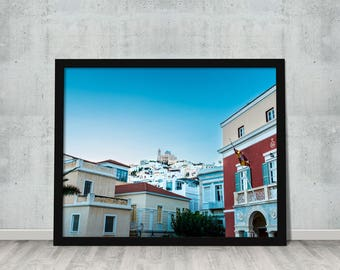 The island life - Greece #6 // Print yourself // Design element // Style your home or office