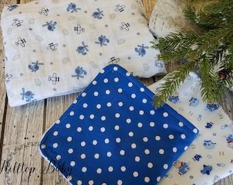 Baby Shower Gift, Boy Baby Blanket, Baby boy Burp Cloths, Airplane Blanket, Baby Gift Set, Airplane Baby, Baby Gift, Boy Baby Gift