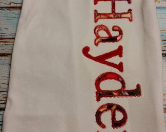 Personalized Baby Gown Boy Baseball Theme (Gown only)