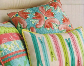 Pillow Trio pattern by Atkinson Designs