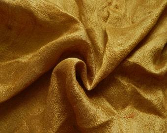 Pure Silk Fabric, Pure Dupioni Silk Fabric, Silk Fabric, Indian Silk Fabric, Gold Silk Fabric
