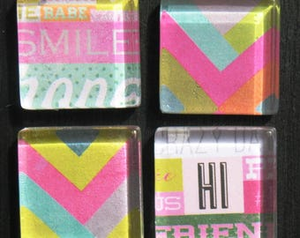 Smile - Glass Magnet Set
