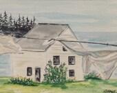 Vinalhaven, Maine Origina...