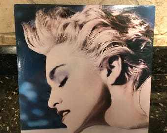 "Madonna ""True Blue"" Sealed New Vinyl Record LP - Vintage 1980's Pressing - Free Shipping!"