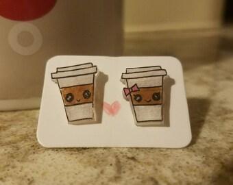 Latte Earrings