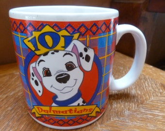 Disney 101 Dalmatians mug 1996 Sakura