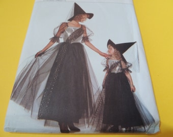 Butterick 3588 WITCH Costumer Xs, S, M, L Uncut