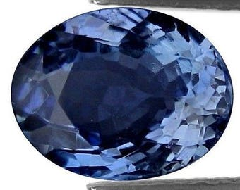1.945CTS mind blowing amazing blue natural tanzanite oval  loose gemstones