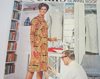 Vintage McCall's Step by step sewing book 1967 softbound book