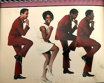 for the I Heard It Through The Grapevine-Gladys Knight and the Pips MOTOWN  FAN!  Album Cover Notebook /rare Vinyl!
