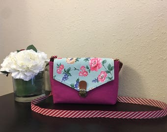 Handmade Crossbody Fabric Bag