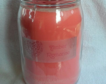 Amber Romance 16 oz jar candle