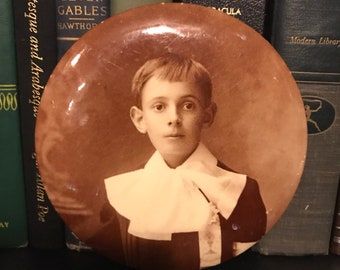 Victorian Mourning photo button