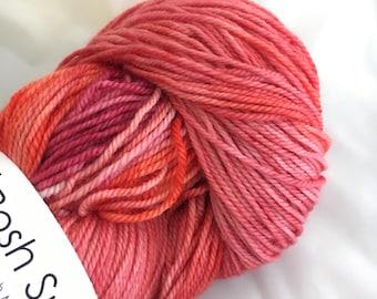 PEONY Posh Sock Merino Cashmere Nylon Hand Dyed Yarn
