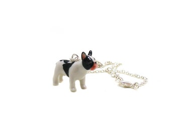 French Bull Dog Necklace, Charm Necklace, Pet Charm Jewelry, Puppy Necklace, French Bull Dog Jewelry, Fur Baby Necklace, Puppy Dog Necklace
