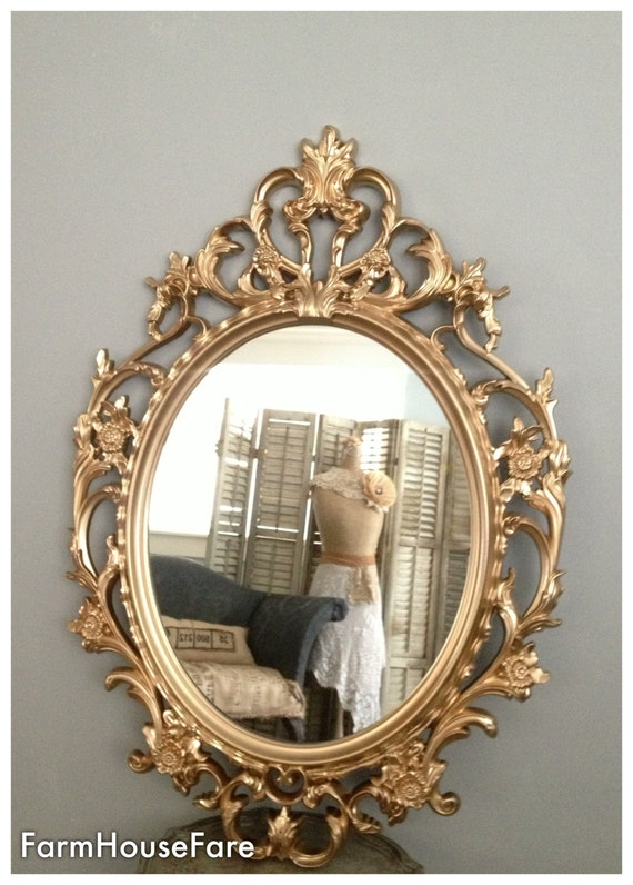New Ornate Mirrors Baroque Mirror Large Gold Wall Mirror FG45