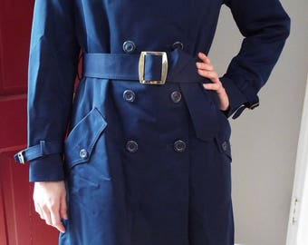 Vintage Dark Blue Coat for Her by Forecaster